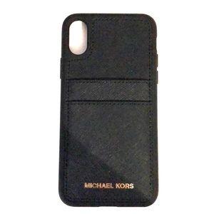 Michael Kors Saffiano Leather iPhone X Case